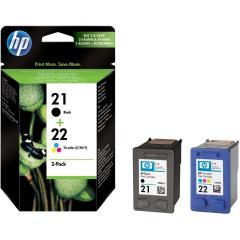 Sada originálných cartridge HP č. 21 a 22 (SD367AE)