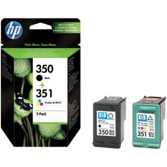 Sada originálných cartridge HP č. 350 a 351 (SD412EE)