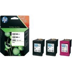 Sada originálných cartridge HP č. 300 (SD518AE)
