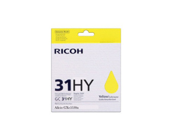 Originálna cartridge Ricoh 405704 (GC-31 HY) (Žltá)