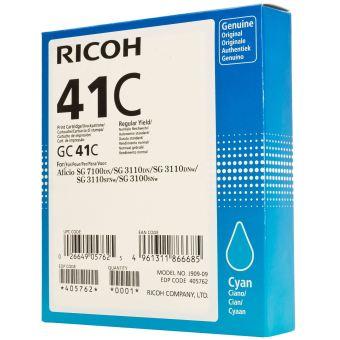 Originálna cartridge Ricoh 405762 (Azúrová)