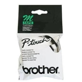 Originálná páska Brother TM-K231, 12mm, čierna tlač na bielom podklade, nelaminovaná