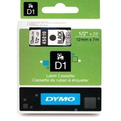 Originálná páska DYMO 45010 (S0720500), 12mm, čierna tlač na priesvitnom podklade