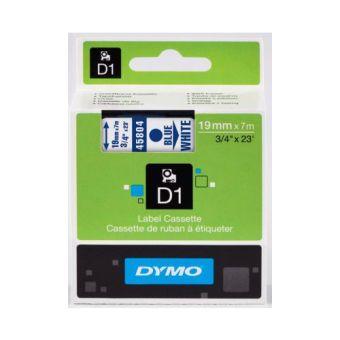 Originálná páska DYMO 45804 (S0720840), 19mm, modrá tlač na bielom podklade