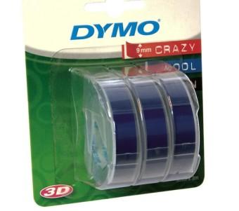 Originálná páska DYMO S0847740, 9mm, biela tlač na modrom podklade