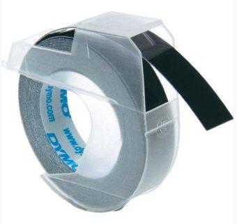 Originálná páska DYMO S0898130, 9mm, biela tlač na čiernom podklade