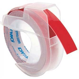 Originálná páska DYMO S0898150, 9mm, biela tlač na na červenom podklade