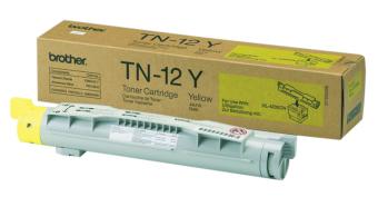 Originálný toner Brother TN-12Y (Žltý)