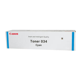 Originálny toner CANON 034 (9453B001) (Azúrový)