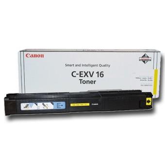 Originálny toner CANON C-EXV-16 Y (Žltý)