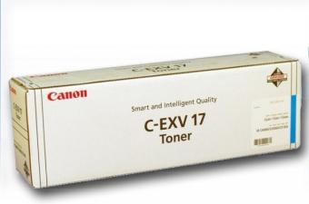 Originálny toner CANON C-EXV-17 C (Azúrový)