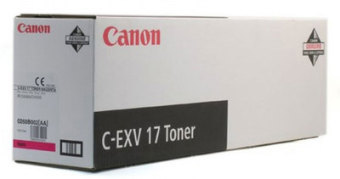 Originálny toner CANON C-EXV-17 M (Purpurový)