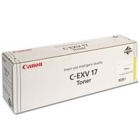 Originálny toner CANON C-EXV-17 Y (Žltý)