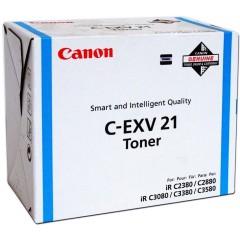 Toner do tiskárny Originálny toner Canon C-EXV-21C (Azúrový)