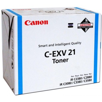 Originálny toner Canon C-EXV-21C (Azúrový)
