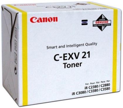 Originálny toner Canon C-EXV-21Y (Žltý)