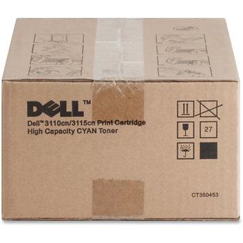 Originálny toner Dell PF029 - 593-10171 (Azúrový)