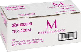 Originálny toner Kyocera TK-5220M (Purpurový)