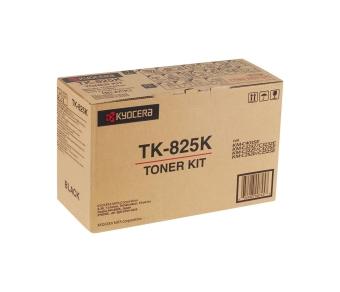 Originálny toner Kyocera TK-825K (Čierny)