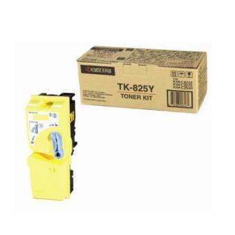 Originálny toner Kyocera TK-825Y (Žltý)