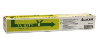 Originálny toner Kyocera TK-8315Y (Žltý)