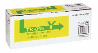 Originálny toner Kyocera TK-855Y (Žltý)
