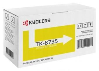 Originálný toner KYOCERA TK-8735Y (Žltý)