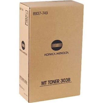 Originálny toner Minolta MT303B (8937749) (Čierny)