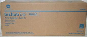 Originálny toner Minolta TN-212C (A00W372) (Azúrový)