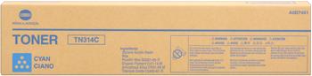 Originálny toner Minolta TN-314C (A0D7451) (Azúrový)