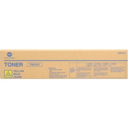 Originálny toner Minolta TN-314Y (A0D7251) (Žltý)