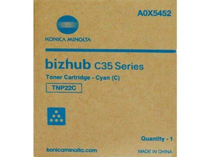 Originálny toner Minolta TNP- 22C (A0X5452) (Azúrový)