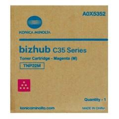 Toner do tiskárny Originálny toner Minolta TNP- 22M (A0X5352) (Purpurový)