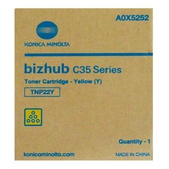 Originálny toner Minolta TNP- 22Y (A0X5252) (Žltý)