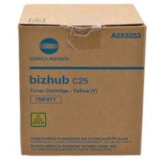 Toner do tiskárny Originálny toner Minolta TNP-27Y (A0X5253) (Žltý)