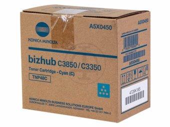 Originálny toner Minolta A5X0450 (Azúrový)