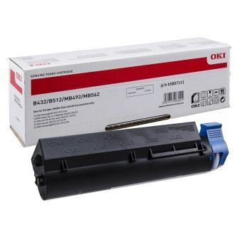 Originálny toner OKI 45807111 (Čierny)