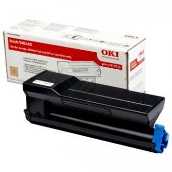 Originálny toner OKI 43979216 (Čierny)