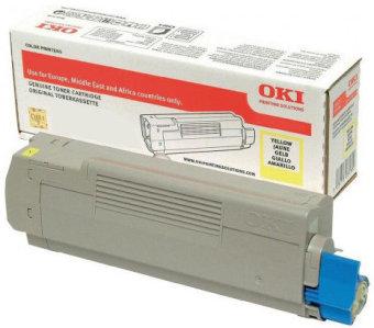 Originálny toner OKI 46508713 (Žltý)