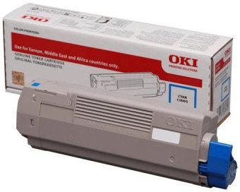 Originálny toner OKI 46507507 (Azúrový)