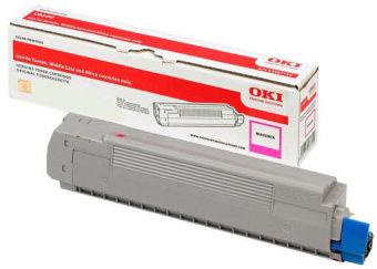 Originálny toner OKI 46507506 (Purpurový)