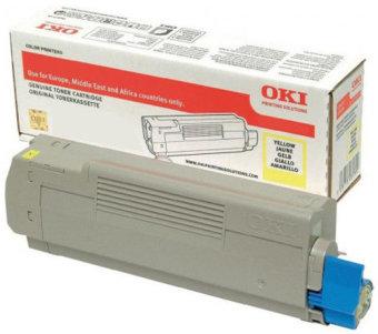 Originálny toner OKI 46507505 (Žltý)