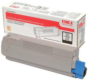 Originálny toner OKI 46507616 (Čierny)