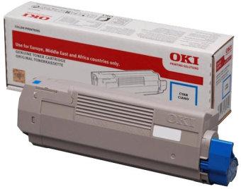 Originálny toner OKI 46507615 (Azúrový)