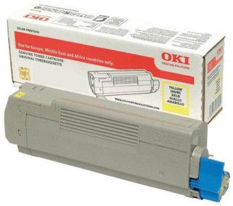 Originálny toner OKI 46507613 (Žltý)