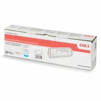 Originálny toner OKI 46861307 (Azúrový)