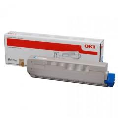 Toner do tiskárny Originálny toner OKI 43837131 (Azúrový)