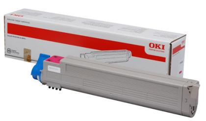 Originálny toner OKI 43837130 (Purpurový)