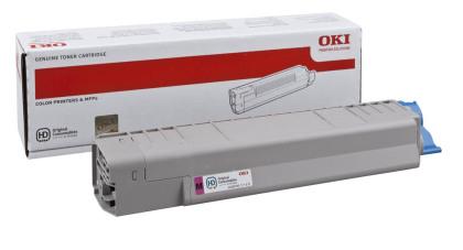 Originálny toner OKI 44059166 (Purpurový)