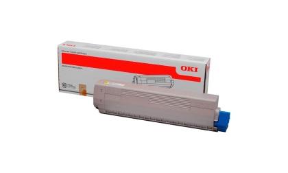 Originálny toner OKI 45862837 (Žltý)